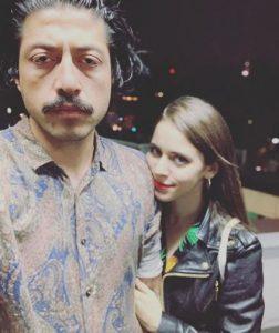 Tessa Ia with her boyfriend, Ronco Muc.