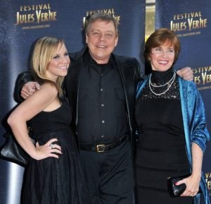 Chelsea Hamill with her Father, Mark Hamill and her mother, Marilou York
