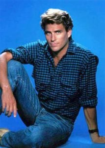 Photo of Ted McGinley when he was young.