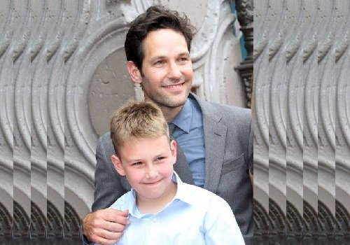 Jack Sullivan Rudd and his father Paul Rudd