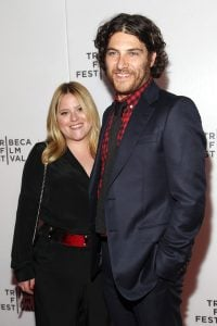 Adam Pally with his wife Daniella Liben attends the premiere of Slow Learners during the 2015 Tribeca Film Festival at Spring Studio on 20th April 2015, in New York City.