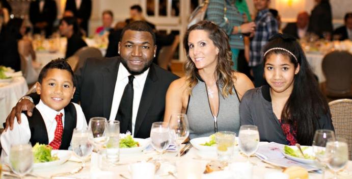 Tiffany Ortiz with her husband & children