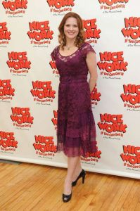 """Jennifer Laura Thompson attends the """"Nice Work If You Can Get It"""" open rehersal at Gibney Dance Studios on March 14, 2012 in New York City."""