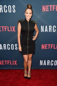 """Cristina Umana attends the Season 2 premiere of Netflix's """"Narcos"""" at ArcLight Cinemas on August 24, 2016 in Hollywood, California"""