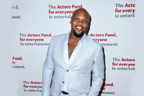 Actor and singer Michael James Scott