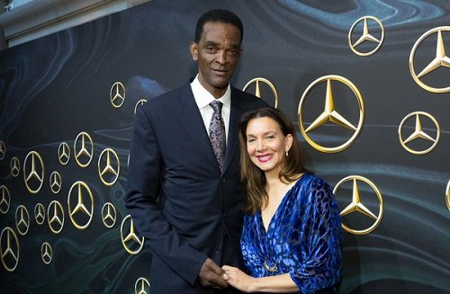 Aleize Sampson and her ex-husband Ralph Sampson