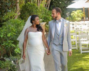 Tatyana Ali and Vaughn Rasberry Wedding.