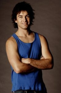 Photo of Antony Starr when he was young.