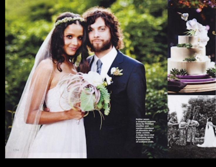 Dorian Heartsong and his spouse Sydney Tamiia Poitier wedding photo