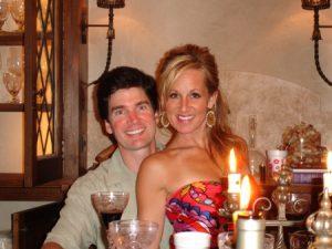 Karin Fulford with her ex-husband
