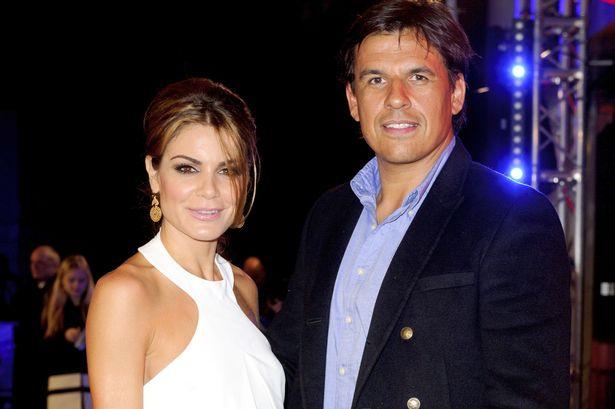 Charlotte Jackson with her husband, Chris Coleman.
