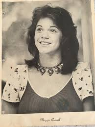 Photo of Maggie Roswell when she was teen.