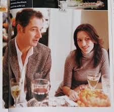 Jeremy Northam with his ex-wife, Liz Moro.