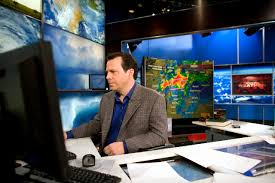 Chad Myers working in CNN