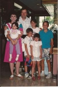 Photo of Jessica Marie Blosil's parents and siblings.