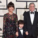 Charlie Moonve and his parents photo
