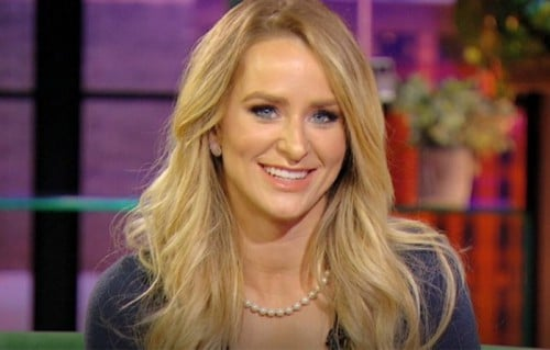 TV personality Leah Messer