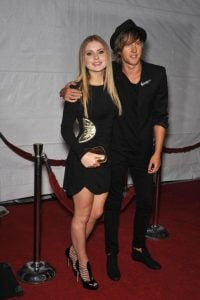 Benjamin with his girlfriend Rose