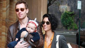 Yasmin Abdallah with her husband & son