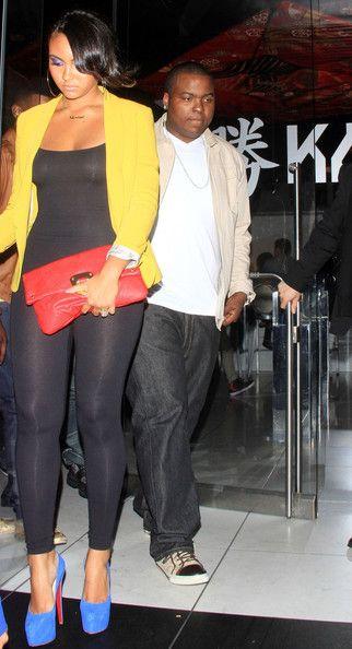 ShanieceHairston with her former Boyfriend Sean Kingston