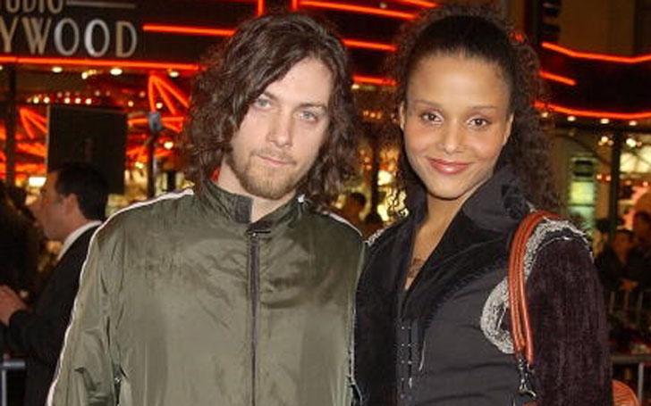 Dorian Heartsong and his spouse Sydney Tamiia Poitier