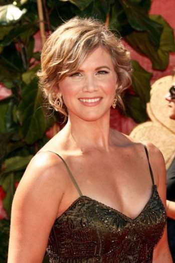 Tracey Gold arrived in an award function.