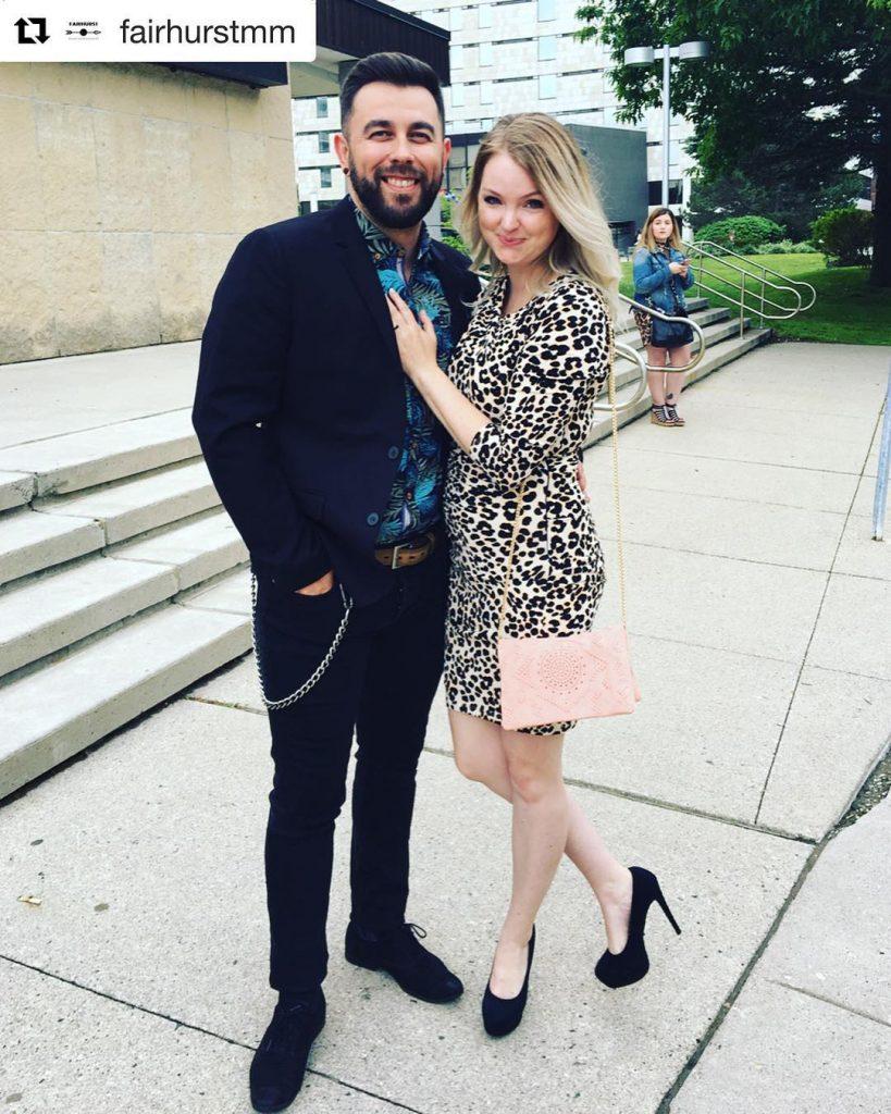 Kristin with her bioyfriend Doug