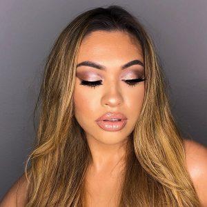 Make-up done by Savannah
