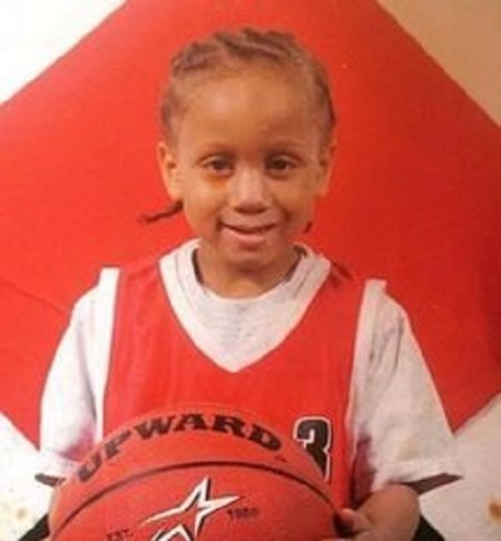 Trippie Redd in his early childhood