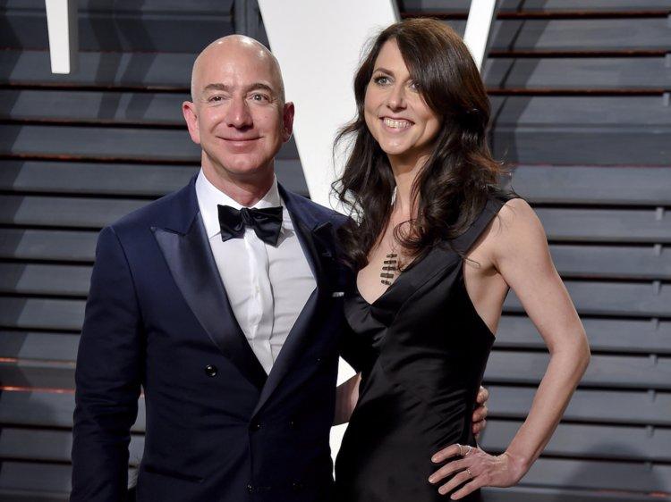 Jeff with his former wife MacKenzie