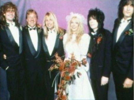 Mick Mars & Emi Canyn wedding ceremony