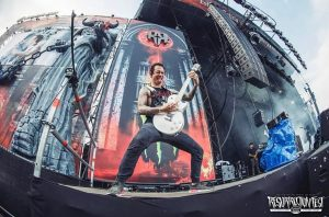 Matt performing in live concert