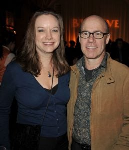 Barry Livingston and his wife.