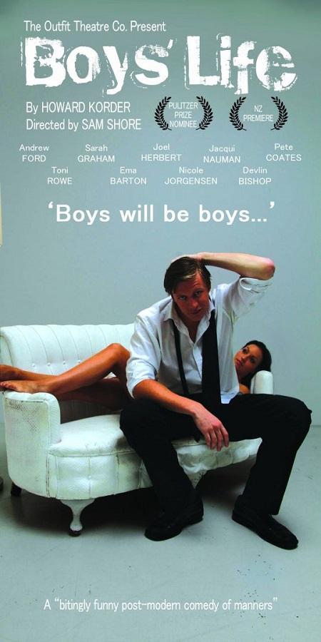 Howard Korder famous nominated play Boy's Life,