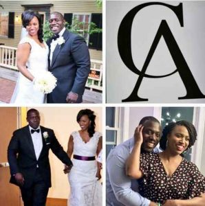 Ayanna Pressley with her husband via Instagram wishing him anniversary. husband, relationship, partner, spouse