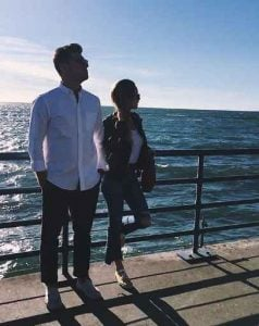 Image: Merritt Patterson enjoying the accation with her boyfriend