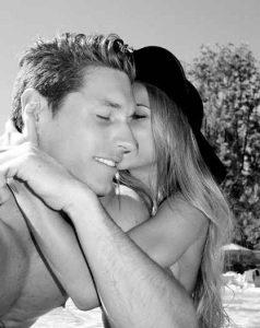 Ayla Woodruff with her boyfriend