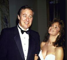 Barbara Niven with her ex-husband, David Niven.