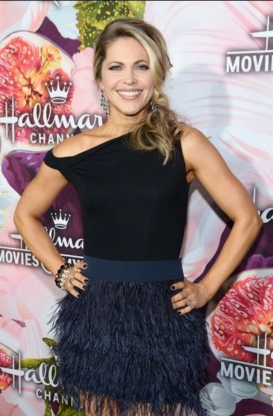 Pascale Hutton arrived at the Hallmark Channel and Hallmark Movies and Mysteries Winter  TCA Press Tour at Tournament House on 13th January 2018, in Pasadena, California.