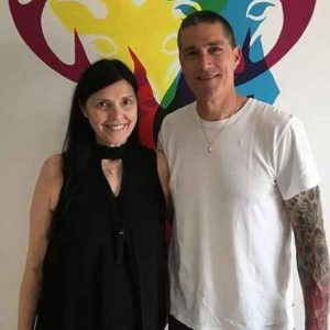 Margherita Ronchi and Matthew Fox