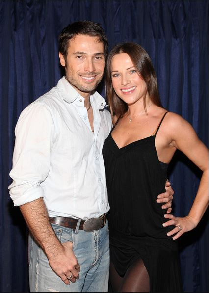 Alec Mazo and his partner, Edyta Sliwinska attended the Hands For Haiti acoustic cirque show to benefit Doctors Without Borders at Le Studio Theater Space on 6th February 2010 in Santa Monica, California.