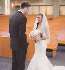 Gordon Hayward and Robyn Hayward during their marriage