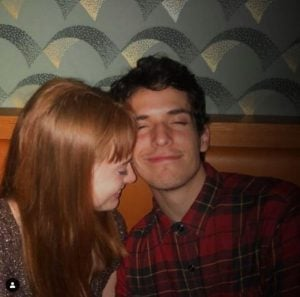 Zoe De Grand Maison with her boyfriend, Matt Jonn Lewis.