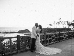 Nicole Williams and Larry English's wedding day.