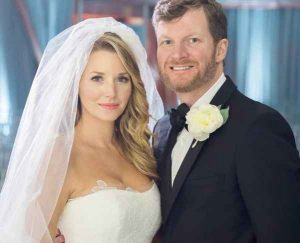 Amy Reimann with her second husband