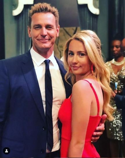 Ingo Rademacher with his wife, Ehiku Rademacher.