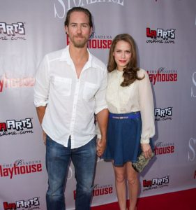 Wes Ramsey with his ex-girlfriend, Bethany Joy Lenz.