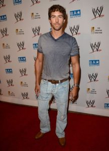 Wes Ramsey arrived at the WWE SummerSlam VIP Kick-Off Party at Beverly Hills Hotel on 16th August 2012, in Beverly Hills, California.