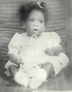 Childhood photo of Patti LaBelle.