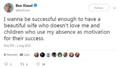 Kissel Tweet